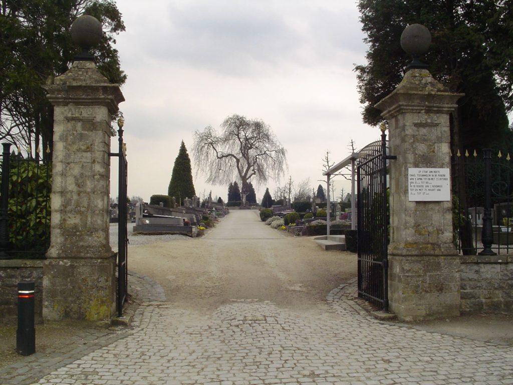 inhumation AIC Heirbrant Grimbergen Laken Strombeek Meise