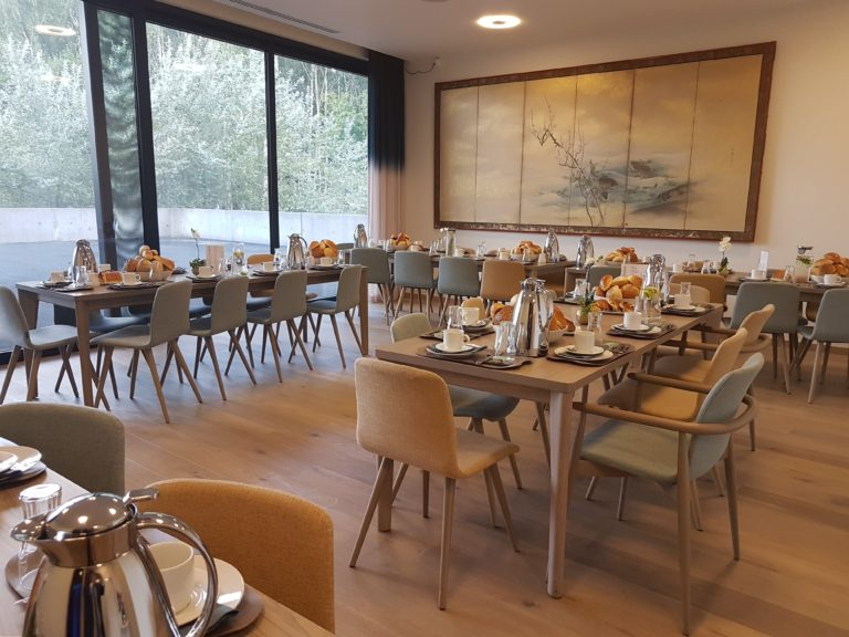 Table de café Réception AIC Heirbrant